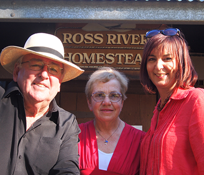 Ross River Homestead Launch
